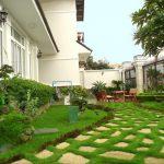 Kiến tạo sân vườn hài hoà phong thuỷ