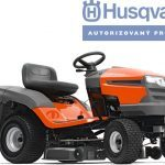 Xe cắt cỏ Husqvarna CT138 - Có thùng gom cỏ