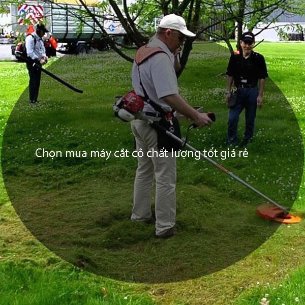 Chọn mua máy cắt cỏ chất lượng tốt giá rẻ